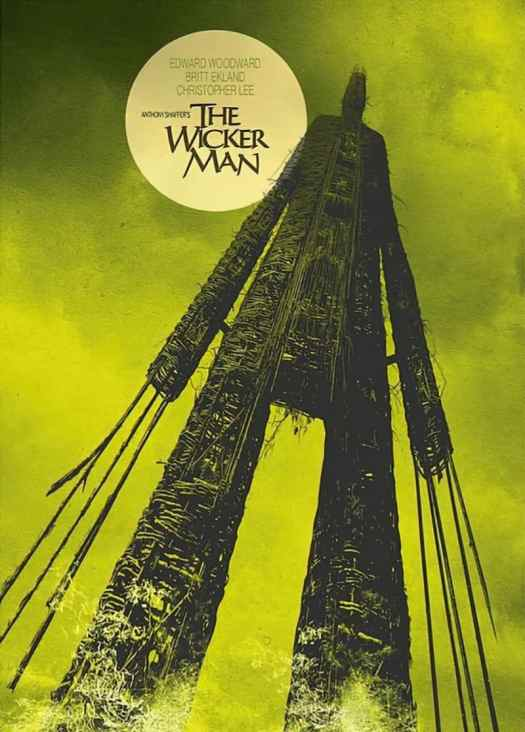 Movie poster, USA 1973 The Wicker Man