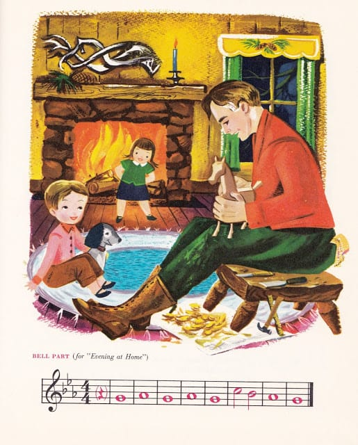 Music Round the Town edited by Max T. Krone, Irving Wolfe, Beatrice Perham Krone & Margaret Fullerton, illustrated by Val Samuelson (1963) hearth