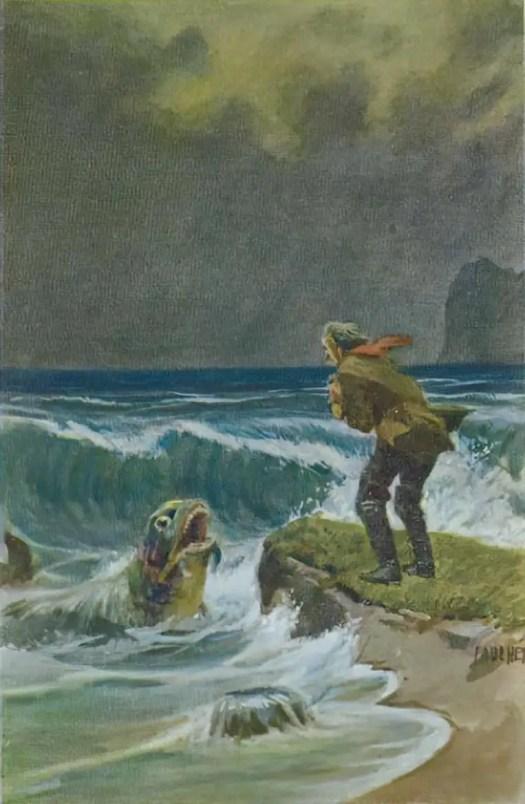 Paul Hey (1867-1952) The Magic Fish