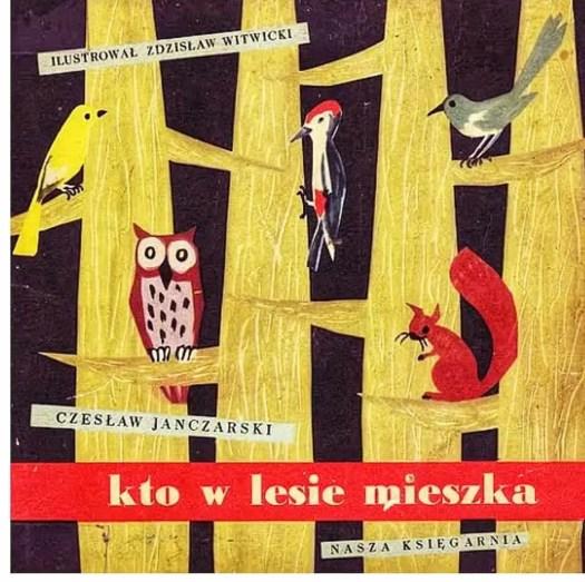 Polish illustrator  Zdzisław Witwicki, (1921-2019) cover