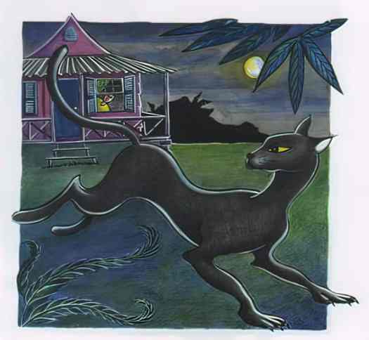 The Cat Woman and the Spinning Wheel and Other Stories Doctor Bird Reading Series set in Jamaica cat moon