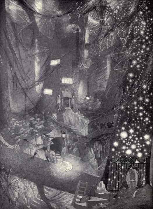 The book of wonder, a chronicle of little adventures at the edge of the world ca.1915 by Lord Dunsany illustrated by Sidney Herbert Sime