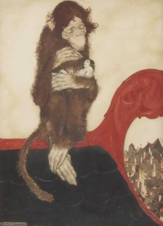 William Andrew Pogany (1882 - 1955)  for Gulliver's Travels 1917