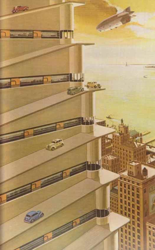 Bruce McCall for National Lampoon Magazine