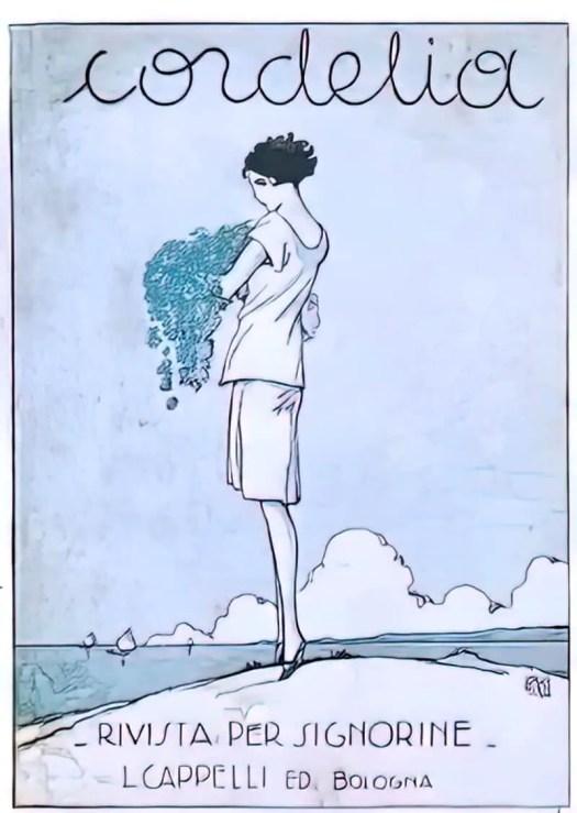 Cover by Sergio Burzi, 1927