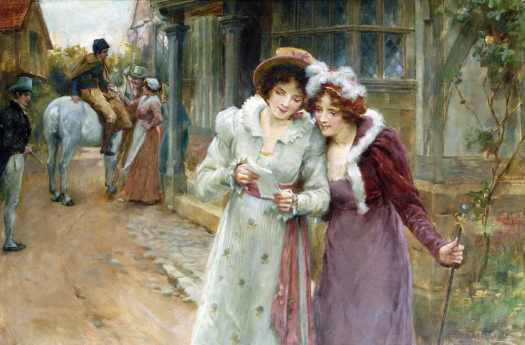 George Sheridan Knowles - The Love Letter