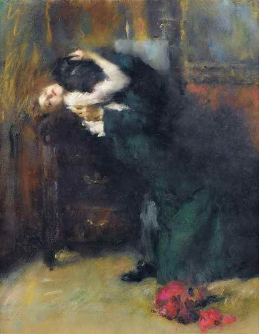 Il Bacio ('The Kiss', 1900) - Ambrogio Antonio Alciati