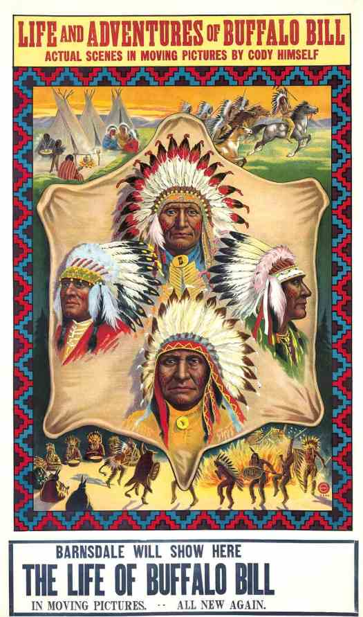 Poster of The life of Buffalo Bill, 1912