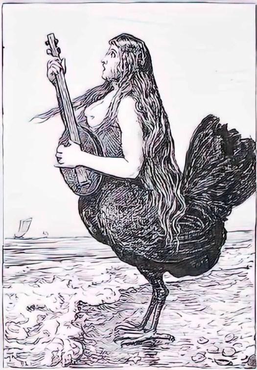 Siren (Sirene) ~ 1892 ~ Hans Thoma (1839-1924)