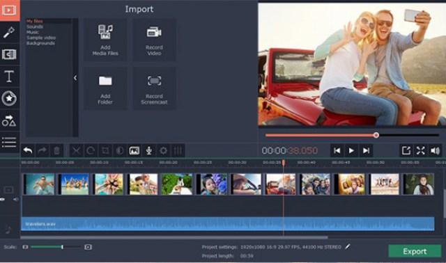 Slashcam News : Movavi Video Editor 14 (Plus) with automatic editing