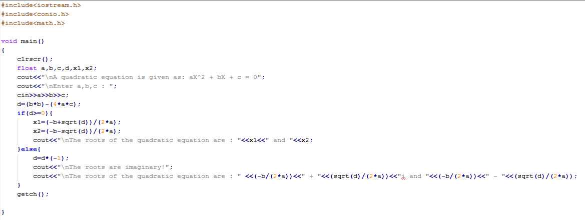 How To Solve Quadratic Equation On Casio Calculator