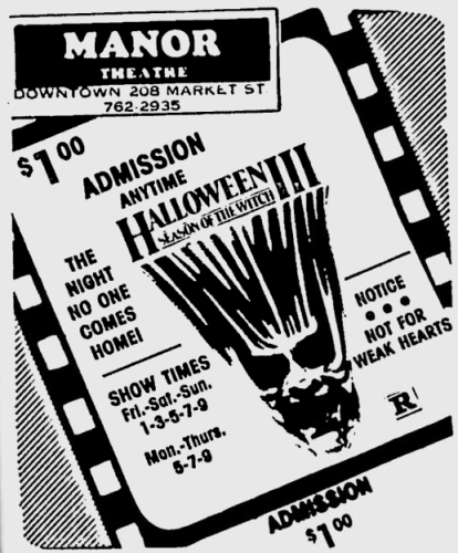 Halloween III Season of the Witch newspaper ad