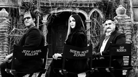 The cast of Rob Zombie's The Munsters