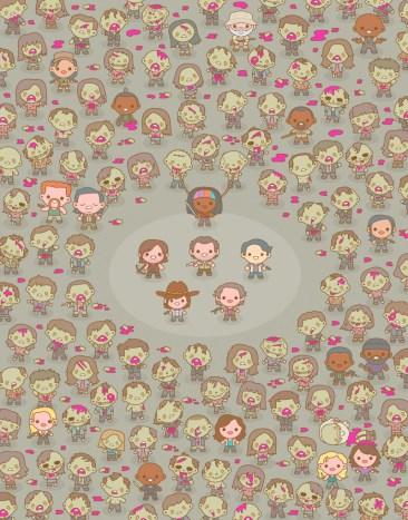 100% Soft - The Walking Dead