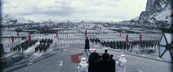 The Force Awakens Starkiller Base