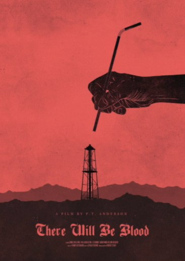 There Will Be Blood Minimalist Poster