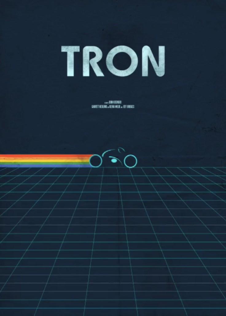 Tron Minimalist Poster