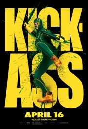 Kick-Ass Outdoor Art Posters - Kick-Ass