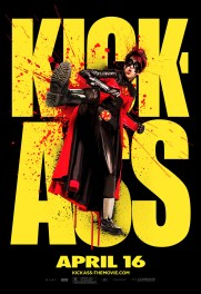 Kick-Ass Outdoor Art Posters - Red Mist