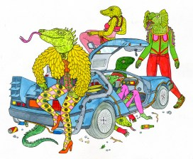 Lisa Hanawalt - 'Zards Back from the Future
