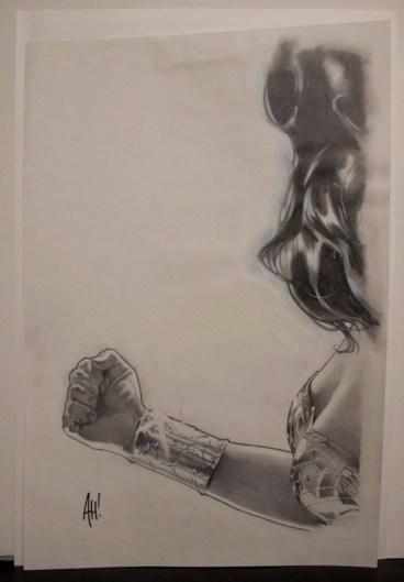 Adam Hughes Wonder Woman Joss Whedon sketch