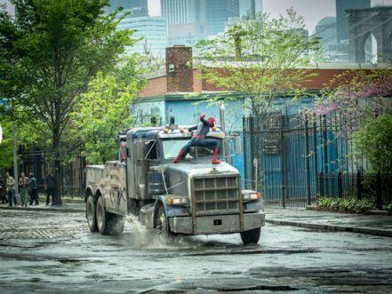 Amazing Spider-Man 2 truck