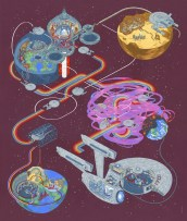 Andrew DeGraff Wrath of Khan
