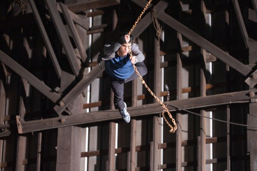 Andrew Garfield swing Spider-Man