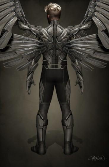 Angel Concept Art X-Men Apocalypse