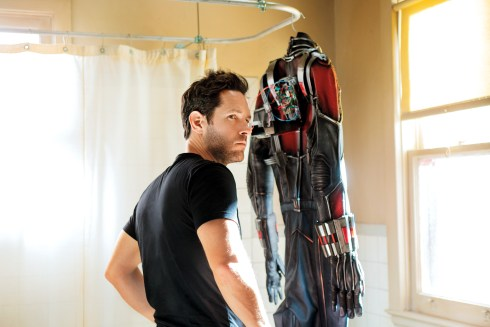 Ant-Man Paul Rudd Shower