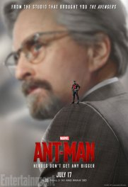 Ant-Man character posters - Michael Douglas as Hank Pym