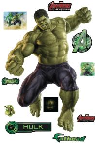 Avengers Age of Ultron Hulk Fathead