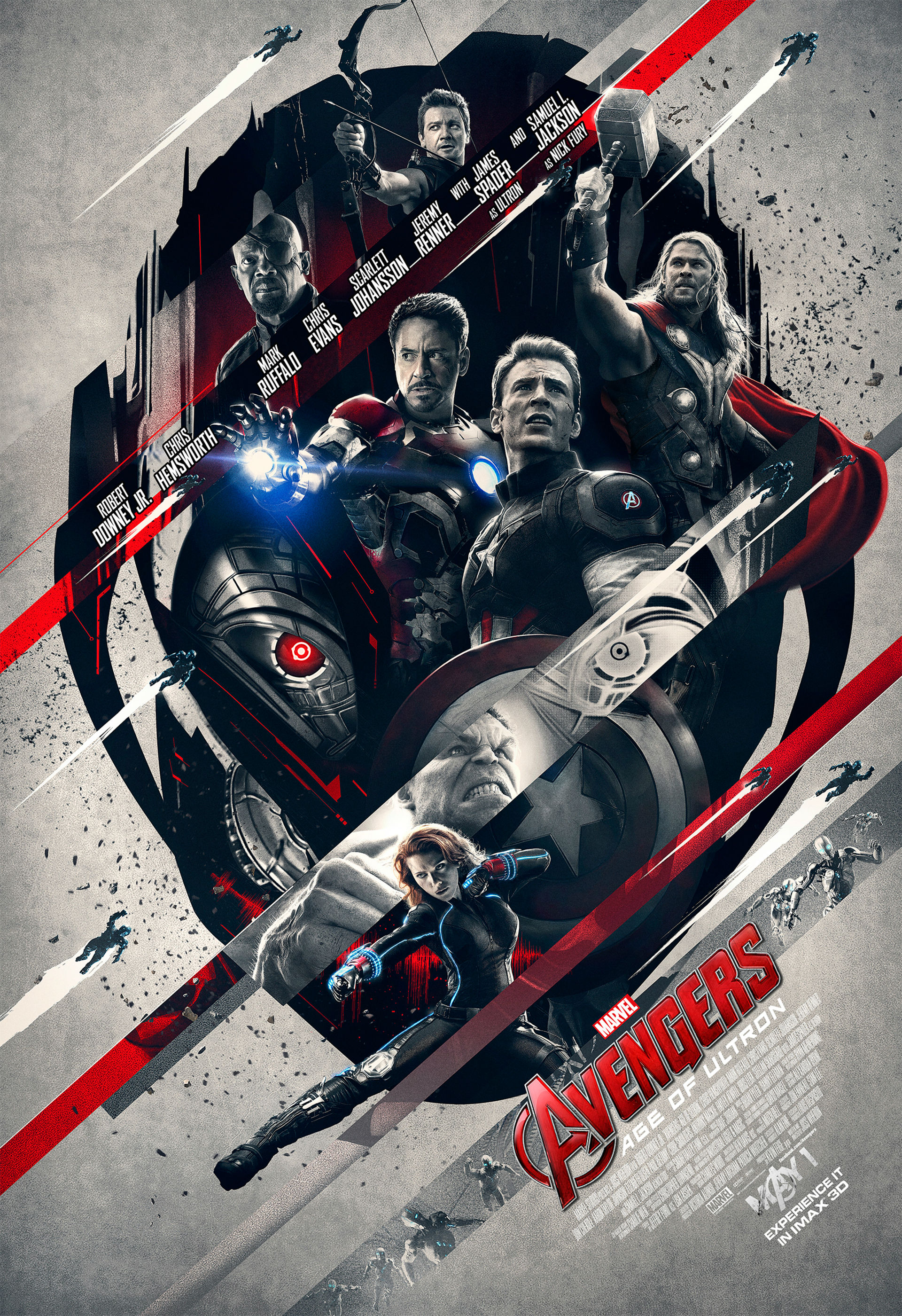 Choose one of four avengers age of ultron imax posters - Images avengers ...