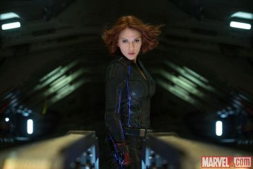 Avengers Age of Ultron - Scarlett Johansson as Black Widow