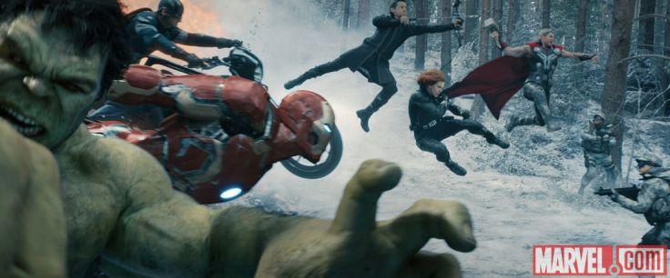 Avengers Age of Ultron - full team