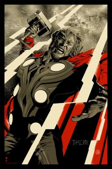 Avengers Mondo Poster - Thor