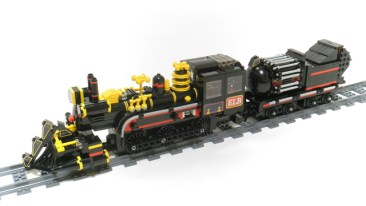 Back to Future Lego Train 2