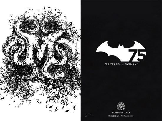 Batman 75 Mondo Gallery