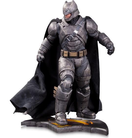 Batman v Superman armor statue
