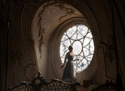 Beauty and the Beast - Belle (Emma Watson) in window