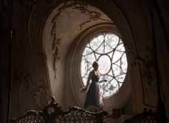 Beauty and the Beast - Belle (Emma Watson) in window