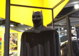 Ben Affleck Batsuit Close Up