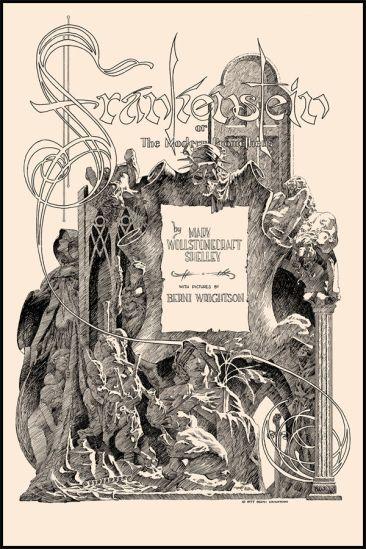Bernie Wrightson - Title page
