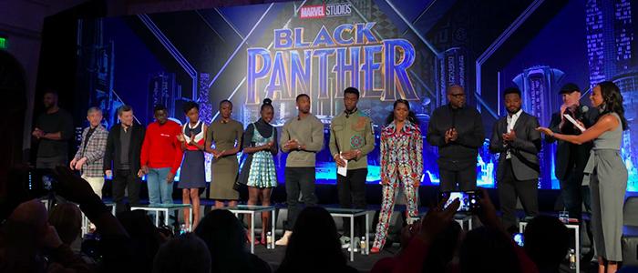 Black Panther junket