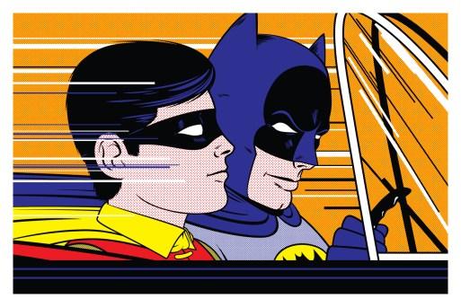 Bruce Yan - batman lichtenstein