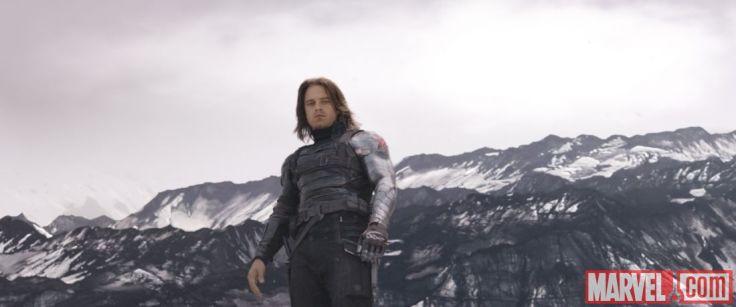 Captain America Civil War - Sebastian Stan as Bucky