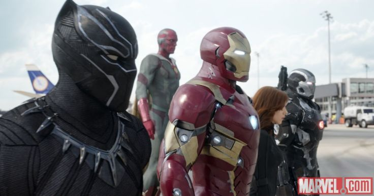 Captain America Civil War - Team Iron Man