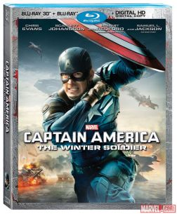 Captain America Winter Soldier 3D Blu