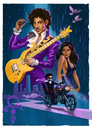 Christian Garland - Purple Rain