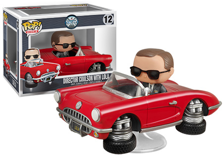 Coulson and Lola Funko Pop